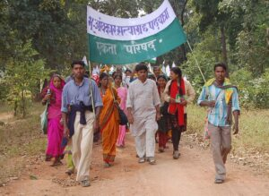 Ekta_Parishad_Walk,_Chhattisgarh,_India,_November_2005